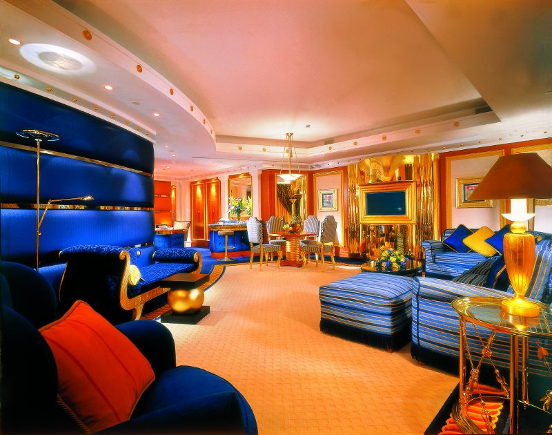 Burj Al Arab suite lighting controlled by Futronix