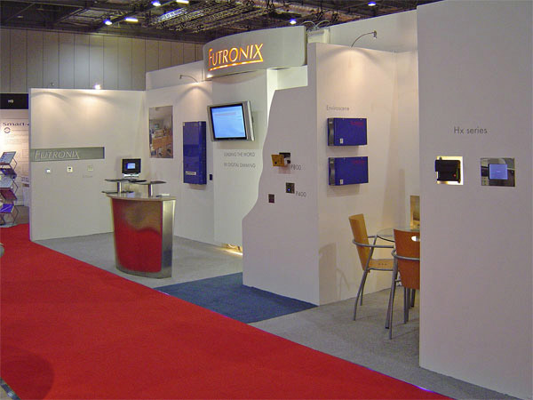 The wide range of Futronix dimmers on display