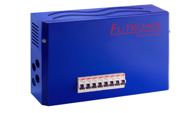 The Futronix Enviroscene lighting controller and dimmers with 4 and 8 channels