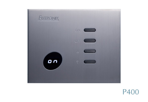Futronix P400 LED dimmer for use in a home cinema or luxury residence
