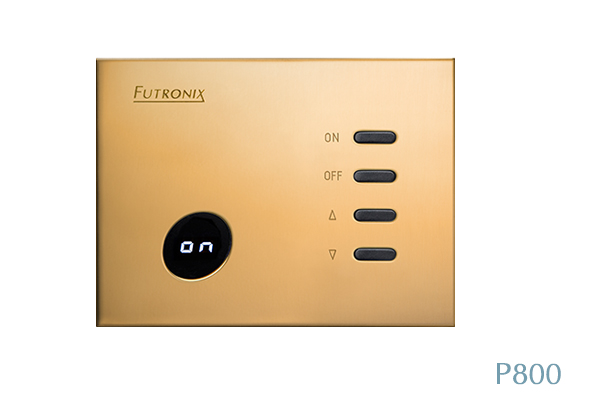Futronix P800 LED dimmers for use in a luxury residence