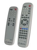 Remote control for the PFX dimmer and lighting controller.