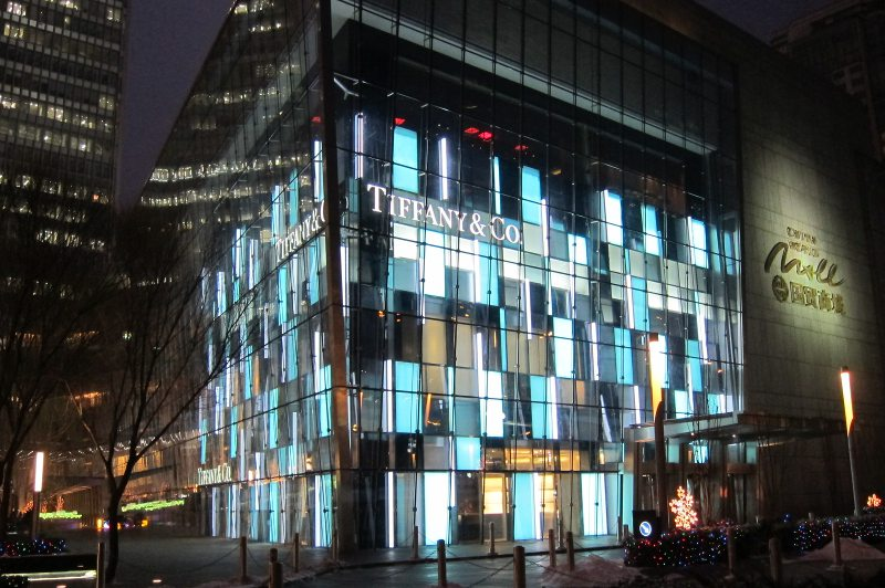 Futronix PFX lighting controller operates the lighting in the flagship Tiffany store.