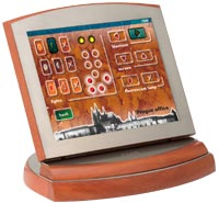 Cue Touchscreen controllers for conference rooms