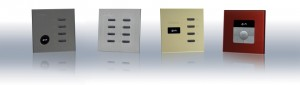 Lighting Control Products: Hx System dimmer lighting controller stainless switch panels