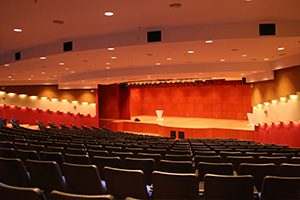 Malaysia Airlines stage auditorium lighting controls by Futronix.