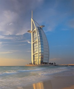 Futronix dimmers power all the suites and corridor lighting at the Burj al Arab hotel in Dubai