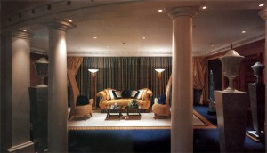 Futronix dimmers control the living room lights in each suite at the Burj Al Arab