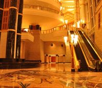 Futronix dimmer lights the spectacular lobby at the Empire hotel, Brunei.
