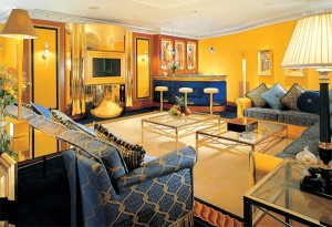 Futronix dimmers control the TV lights in each suite at the Burj Al Arab