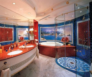Futronix dimmers control the bathroom lighting in each suite at the Burj Al Arab
