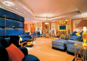 Futronix dimmers control the spiral suite staircase lights in each suite at the Burj Al Arab