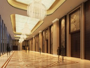 WH Ming 5 star hotel in Shanghai uses Futronix dimmers throughout the public areas